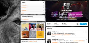 Matt McKee Twitter